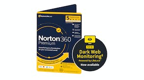 Norton 360 Premium 5 Devices - 2 Years
